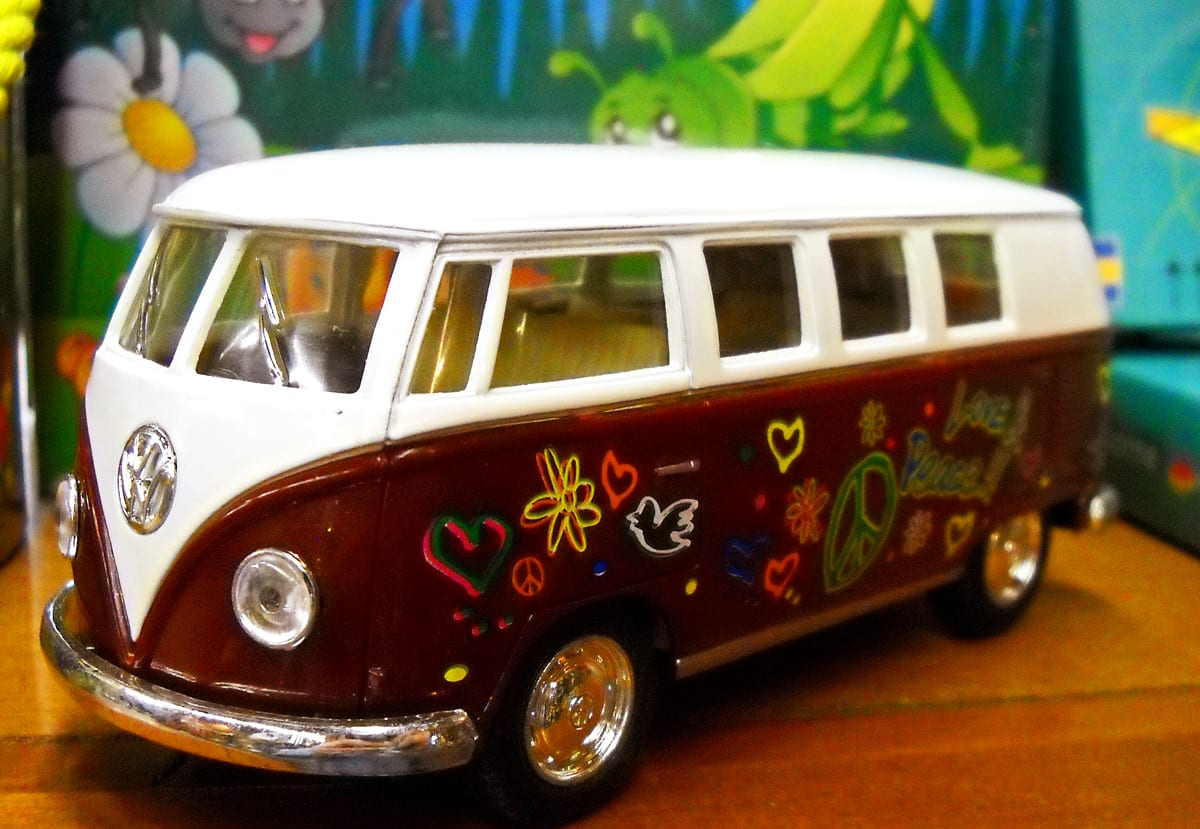 toy VW bus kids Christmas stocking stuffer gift