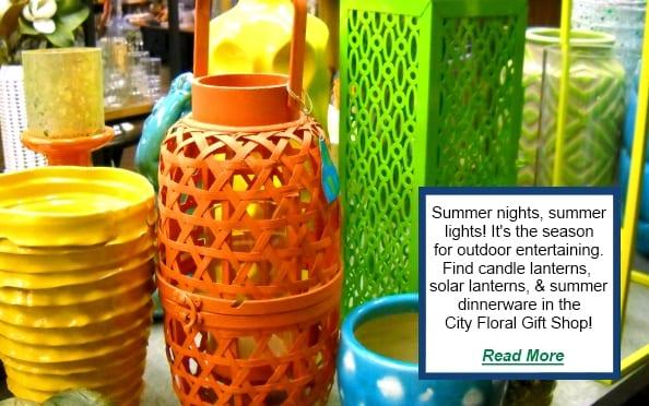 cityfloral lanterns