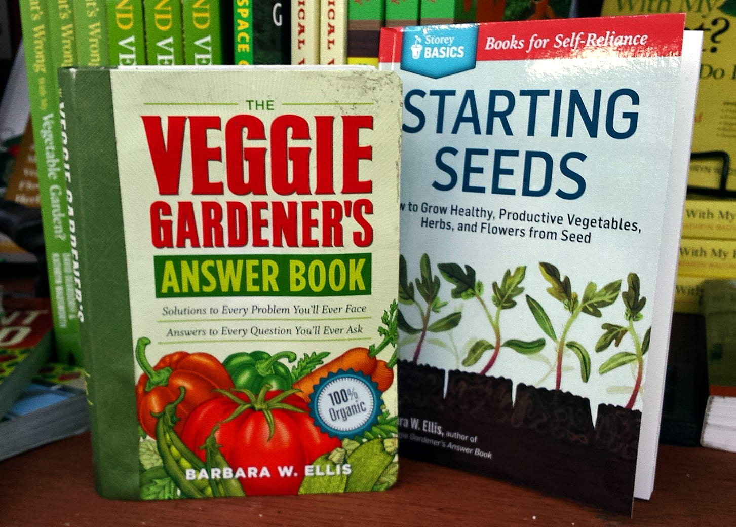 books about growing vegetables