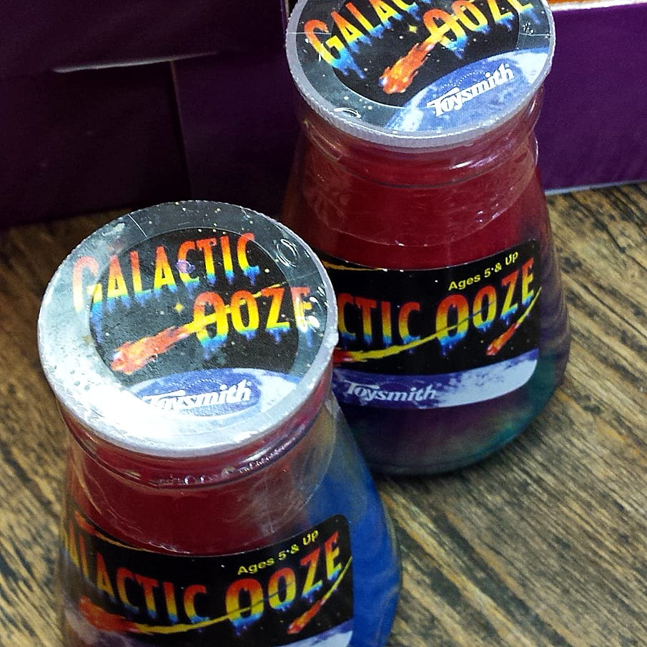 kids Christmas stocking stuffer gift Galactic Ooze