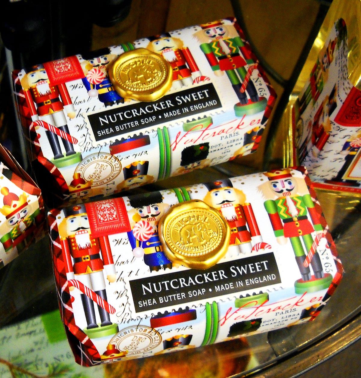 Christmas Nutcracker Sweet soap City Floral