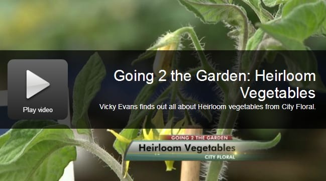 Going 2 The Garden Video on Heirloom Veggies with City Floral