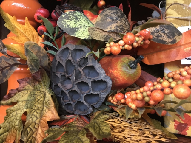 Fall decor at city floral greenhouse and garden center