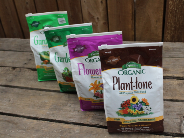 plant food and fertilizers at city floral greenhouse and garden center