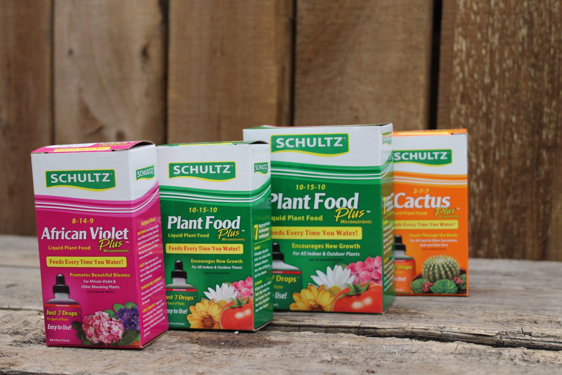 Fertilizers at city floral greenhouse and garden center