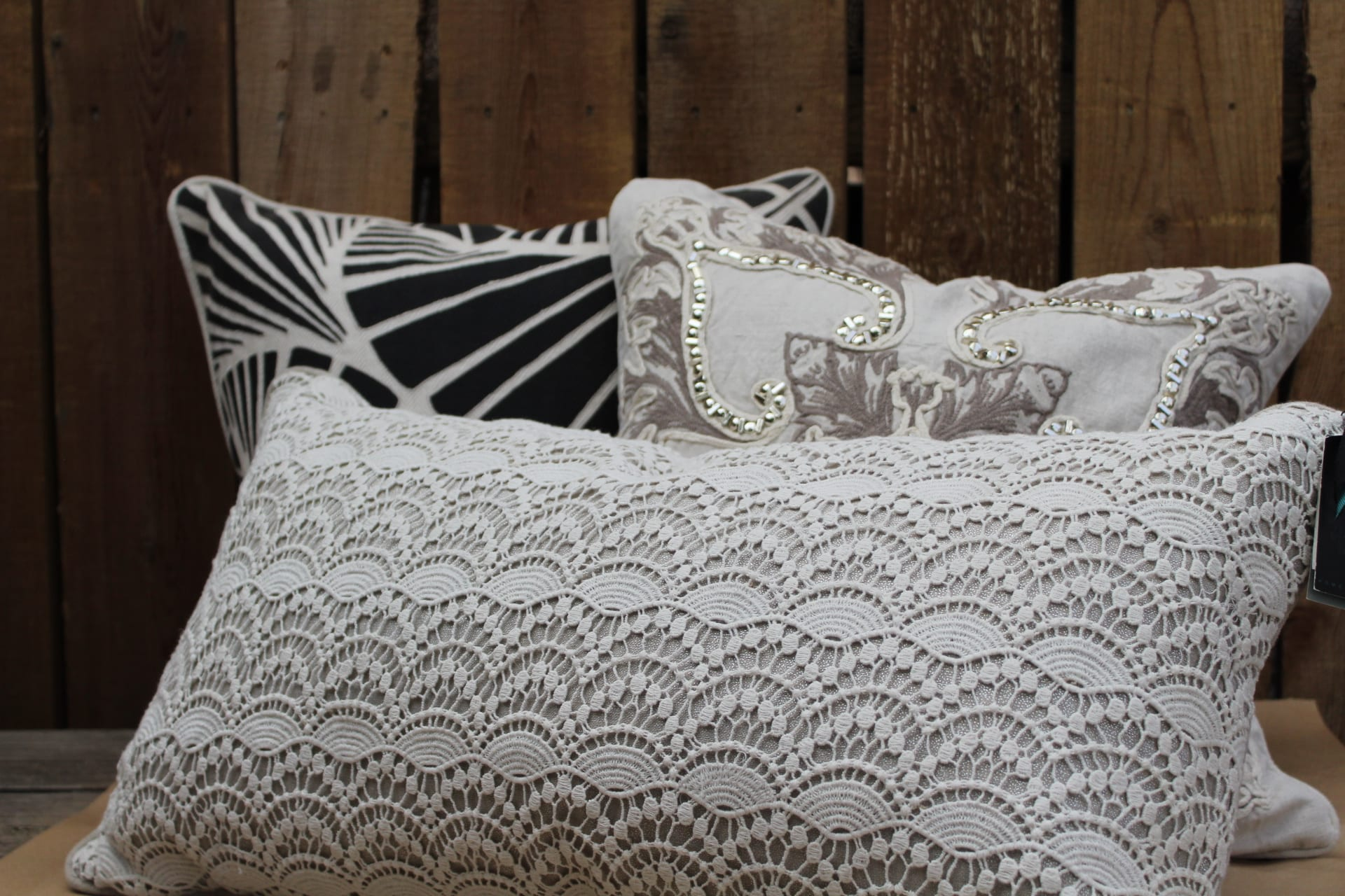 Villa cushions city floral greenhouse gift shop