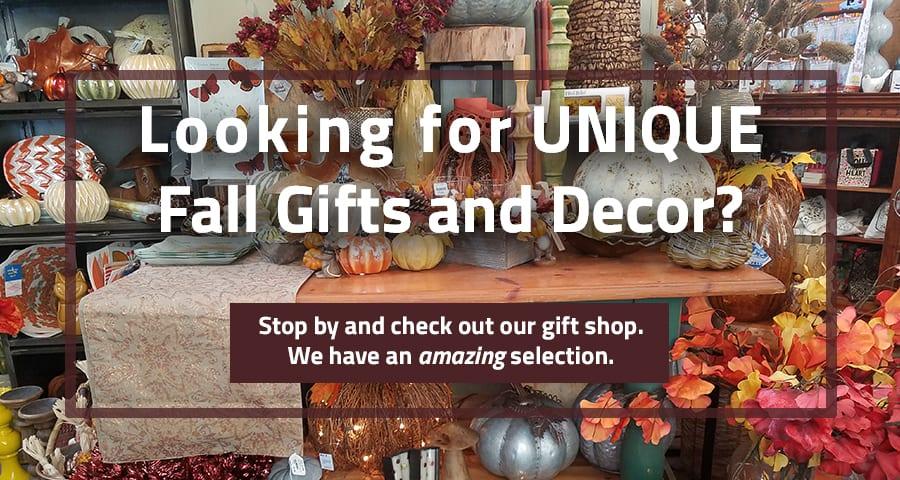 Fall Decor Gift Shop Slider