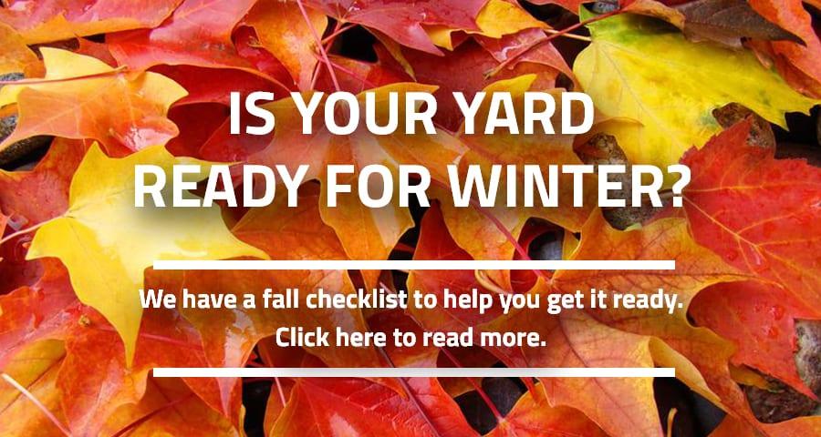 Fall Yard Garden Checklist
