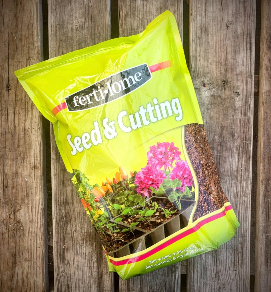 Growing seeds requires the best soil