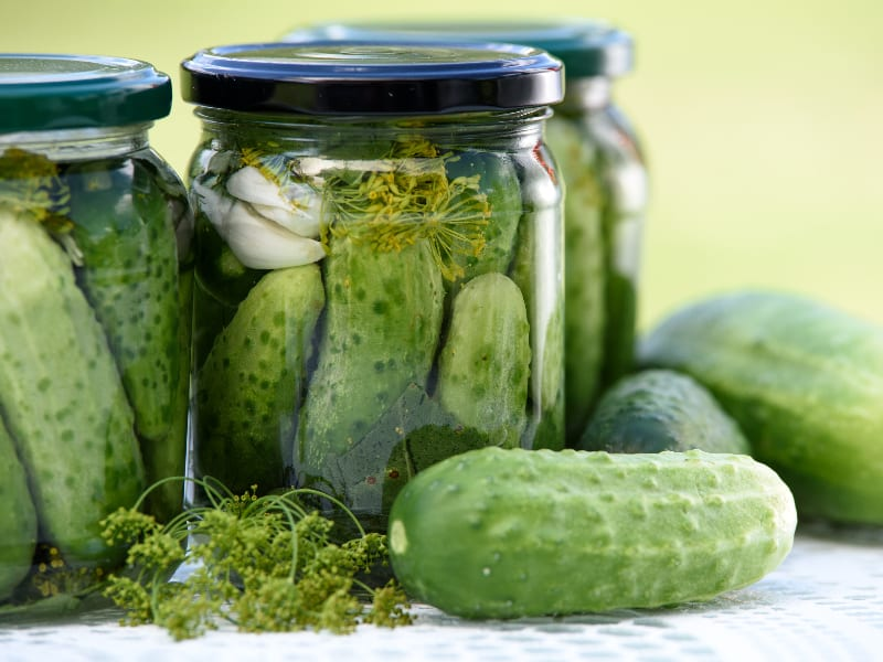 Preserve and Pickle those Veggies