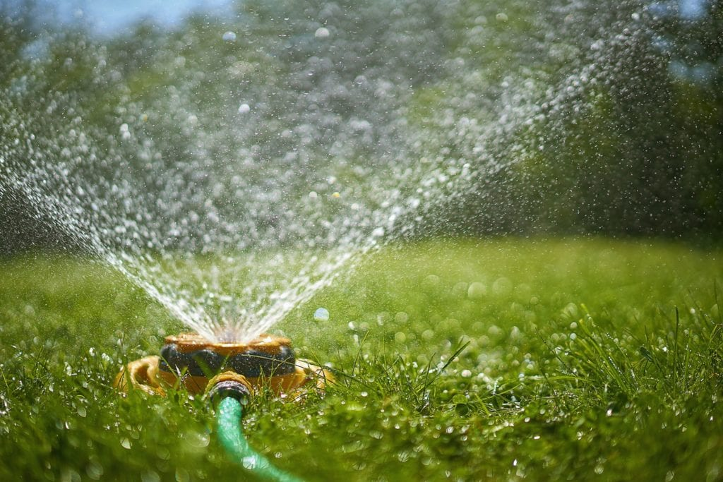Fall lawn care means keep watering