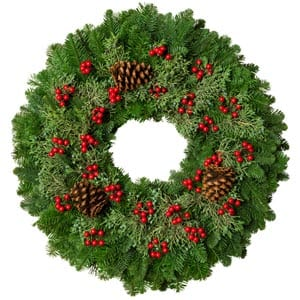 Berry Christmas Wreaths