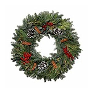 Cinnamon Holiday Wreath