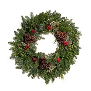 Evergreen Bounty Wreaths