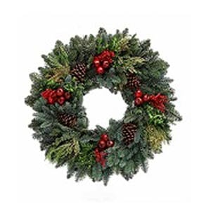 Royal Fruit Holiday Wreaths