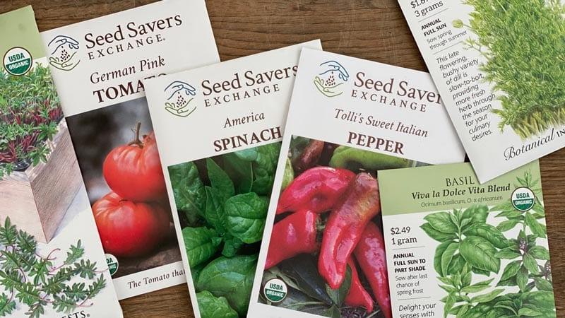 Start choosing seeds for December gardening