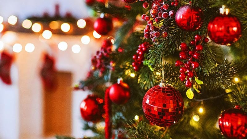 Keep Christmas trees away from heat sources