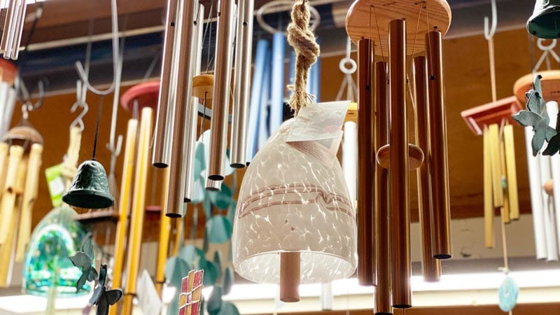 Wind chimes for a beautiful garden sound