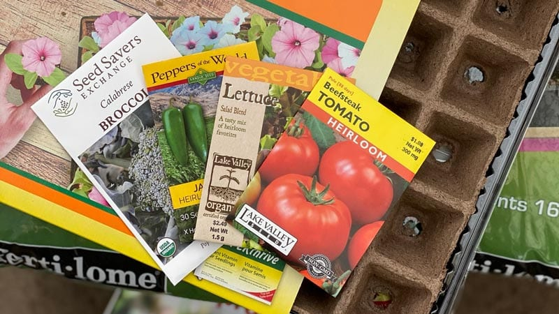 Purchase Seeds for January Gardening